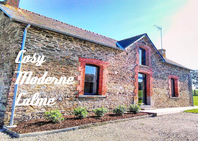 Cosy and spacious guest house in the coutryside - Bain-de-Bretagne - Hus