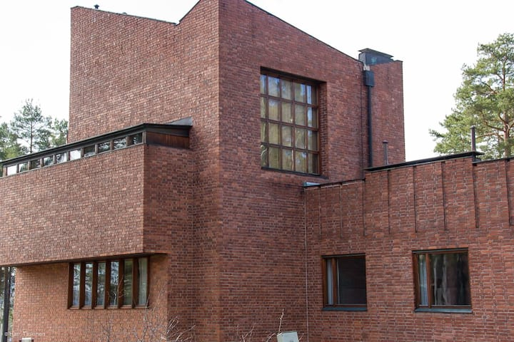 Säynätsalo Town Hall, apartment HENRIK