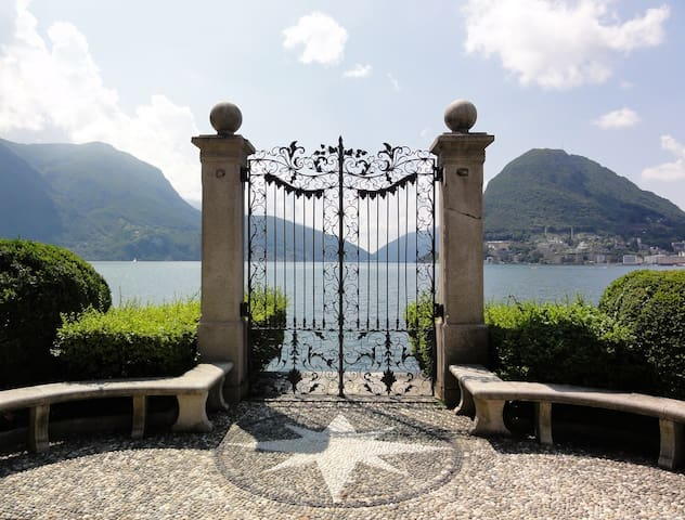 Lovely room with kitchen in the heart of Lugano - Lugano - Daire