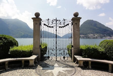 Lovely room with kitchen in the heart of Lugano - Lugano - Byt