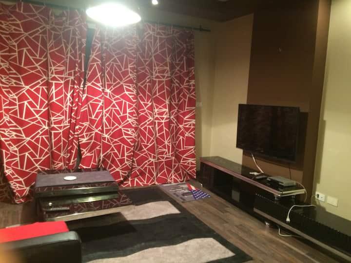 Entire apartment located in rehab