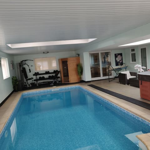 Hill Road House....  A home with a private spa