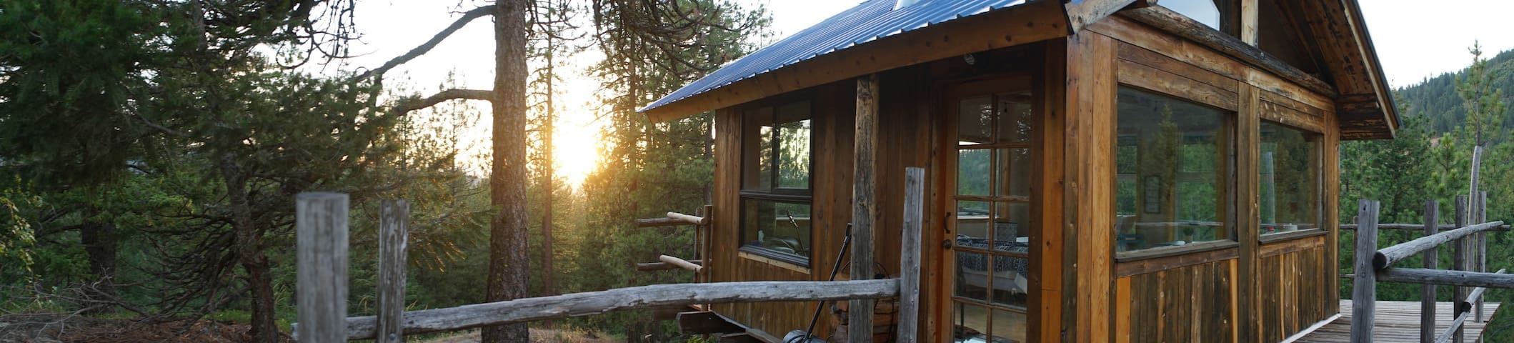 🏕Off-Grid@The Glass House|A Tiny Cabin Venture