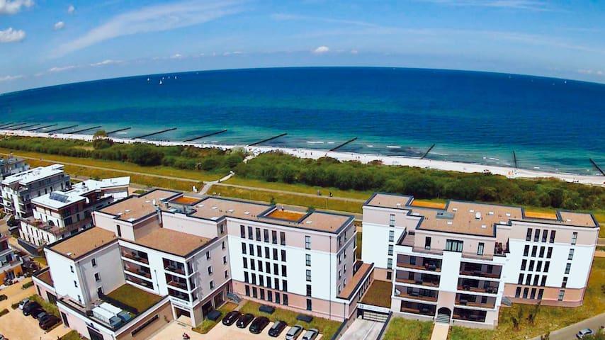 Ferienwohnung Strandurlaub - Nur 30m vom Strand