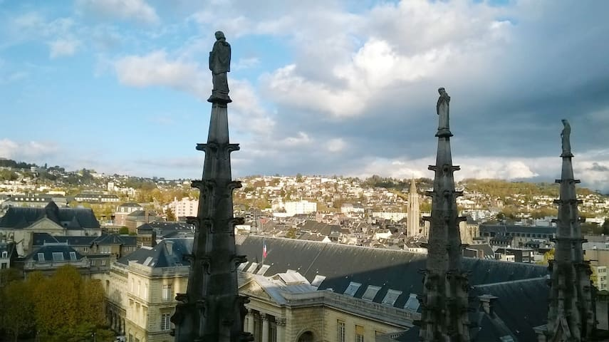 The place to stay in Rouen - Le Voltaire****