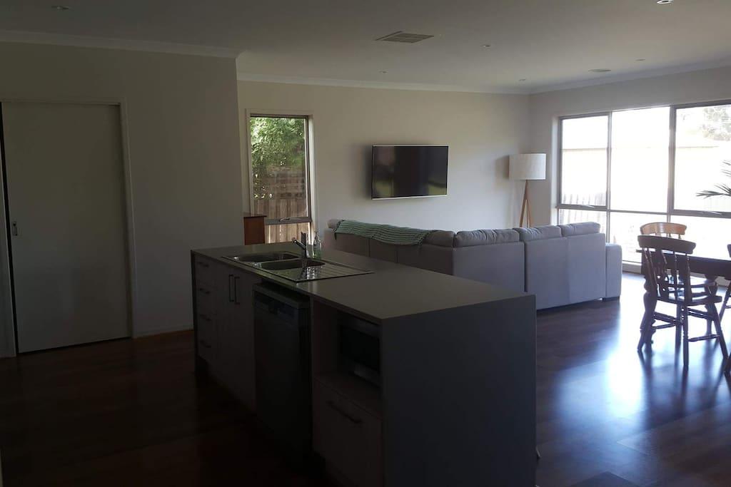 Kitchen and Main Lounge