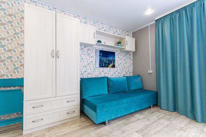 Уютная студия на Аксакова