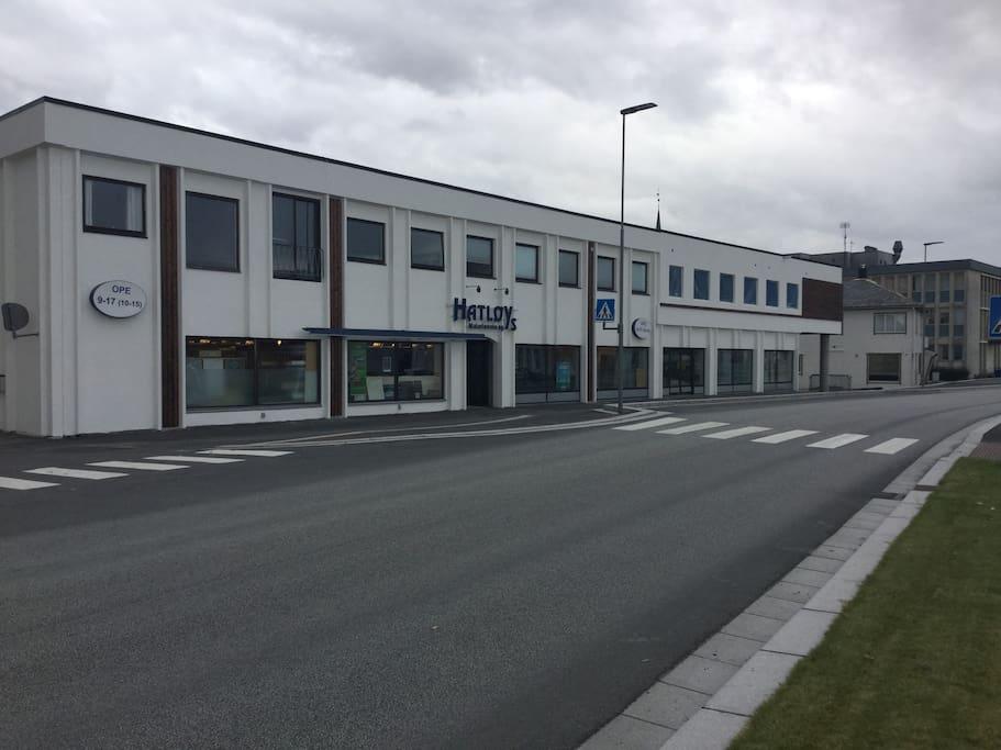 Nye studio leiligheter i sentrum av Ulsteinvik