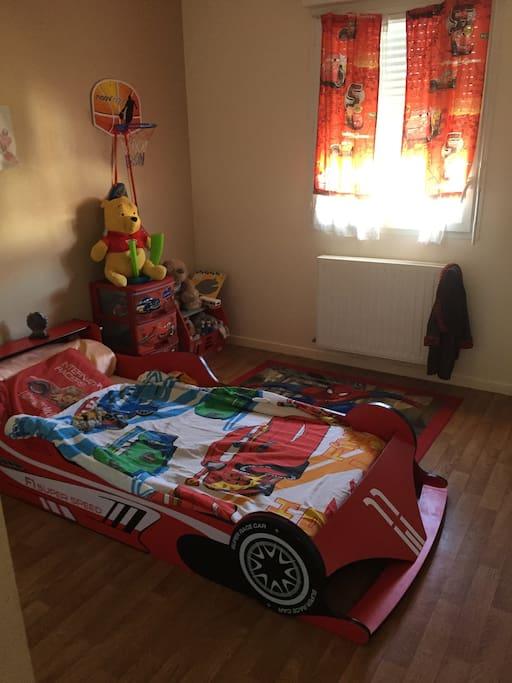CHambre 2 un lit enfant