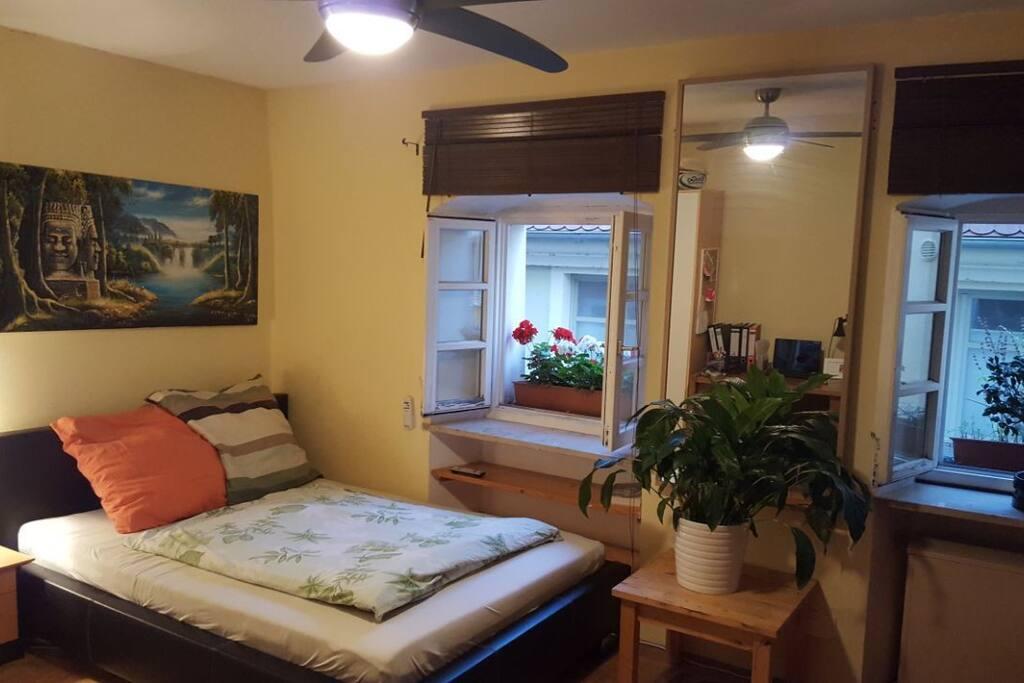 gut ausgestattetes zimmer direkt in der altstadt appartements louer regensburg bayern. Black Bedroom Furniture Sets. Home Design Ideas
