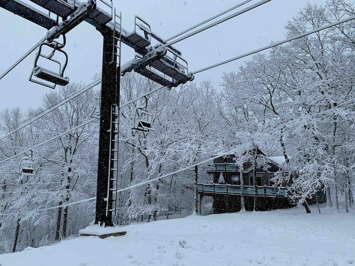Ski Chalet - Ski Big Bear in Lackawaxen - Poconos