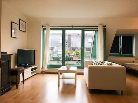 Cosy Apartment only 15min from centre of Cologne