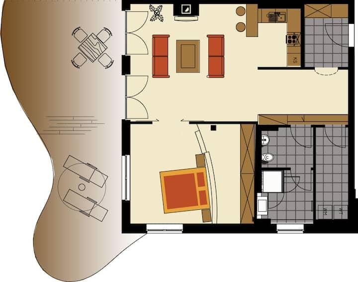 "Residenzen Maximilian  Apartment ""Niedere Munde"" for 2 persons"