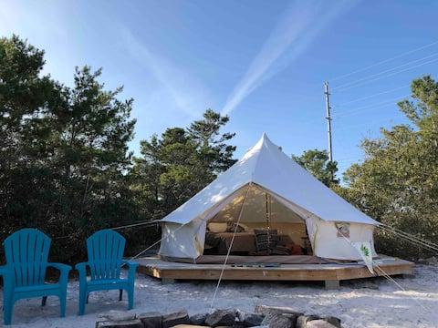 Spring Break Days Open- Beach,Sun, Fun, Yurt!!