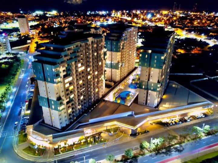"""Olímpia Park Resort - Apartamento p/ 5 pessoas"""""""
