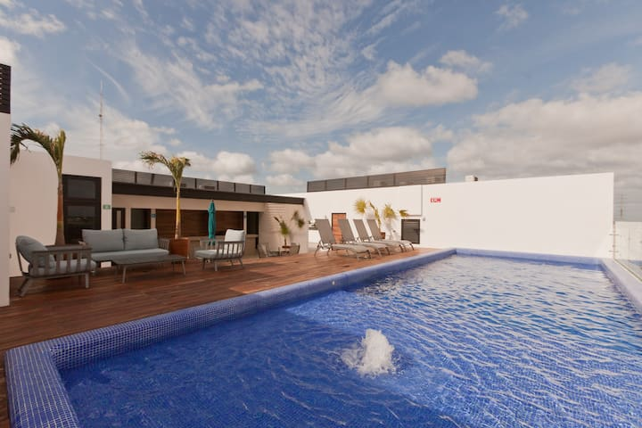 Luxury 3 Bedrooms Aparment! at the ❤ of Playa.