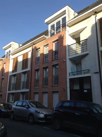 Joli appartement avec chambre - Amiens - Leilighet