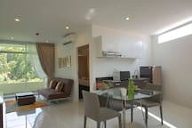 2 Big Bedroom ,88 sqm Phuket Town ,Suan Luang Park