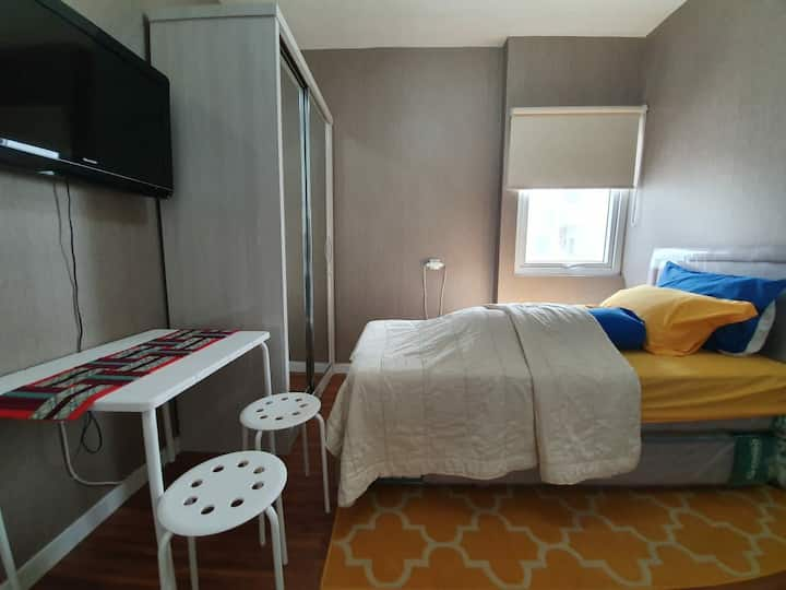 Studio near soekarno hatta international airport