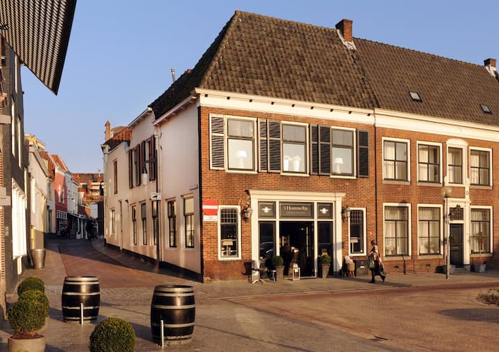 Sfeervol app in historisch centrum Goes