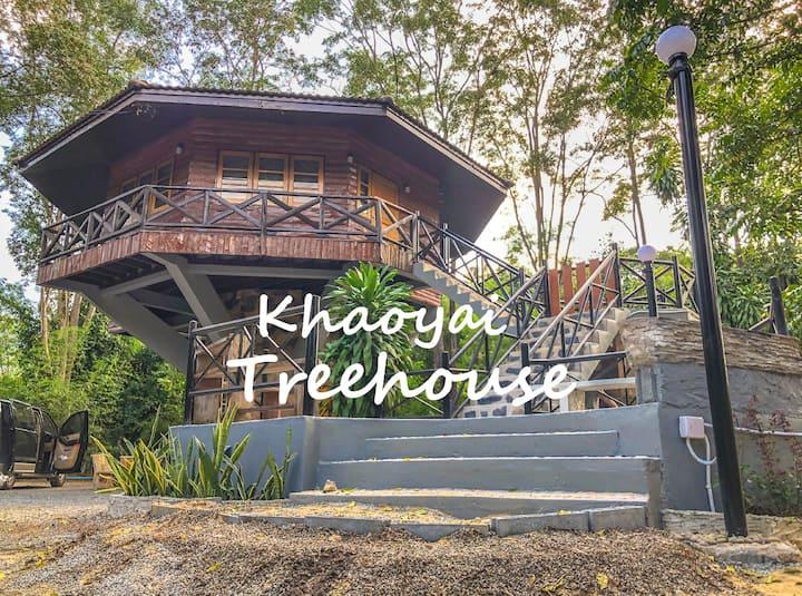 Hidden Treehouse in Khao Yai!!!