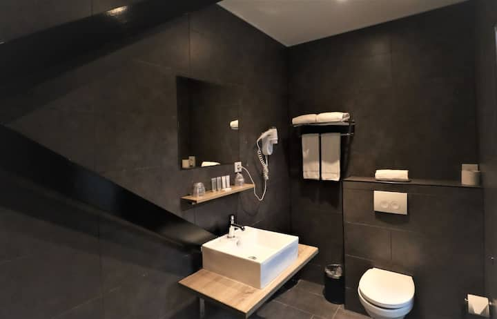 Prima kamer in hotel Amsterdam!
