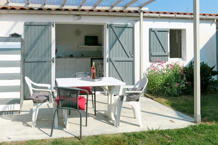 Holiday home with terrace and garden in Talmont St. Hilaire