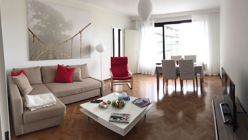 Sunny appartment Brussels near UCL - Woluwe-Saint-Lambert - Apartment