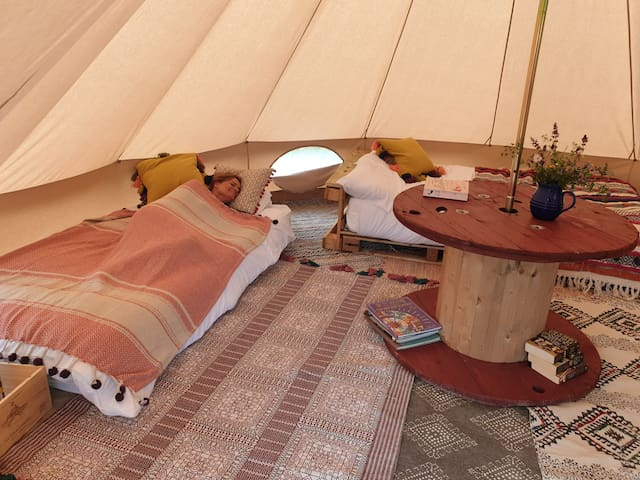 My Happy Place Glamping Bell Tent Ghyll