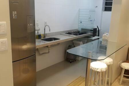 2 suítes, ar, wifi, TV, cozinha!!! - São Luis - Apartment - 1