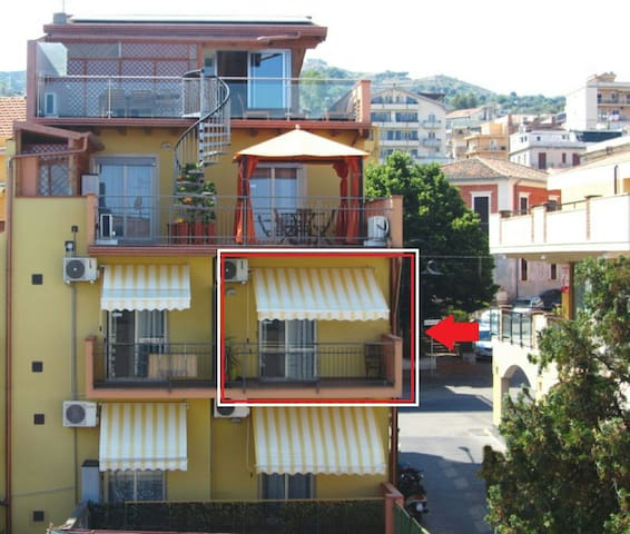 Miniappartamento a 30metri dal mare - Santa Teresa di Riva - Wohnung