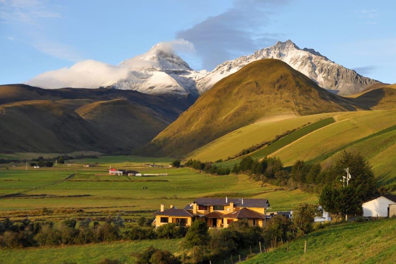 La tranquilidad que brinda el paisaje andino permite a nuestros visitantes disfrutar de momentos de total desconexión