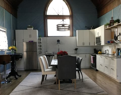 The Trinity -Church Converted to Open Concept Home