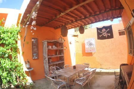 Quiet and tropical little house - Mahahual - Apartamento
