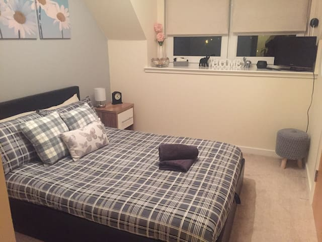 Delightful Double Room - Edinburgh - Daire