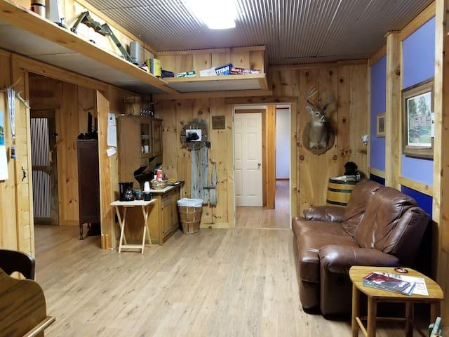 Plenty of room...
