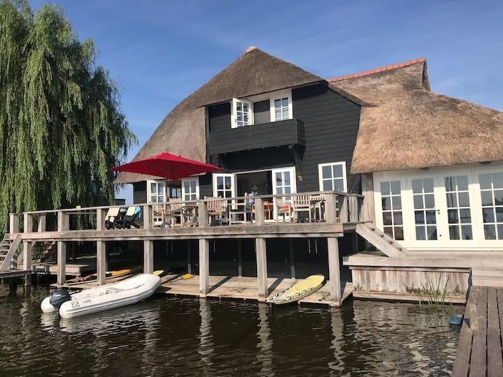 Beautiful lake house