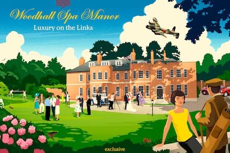 Woodhall Spa Manor - Stylish Secret Escape - Woodhall Spa - Ház