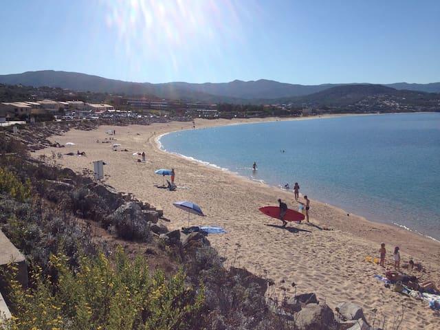 Mini villa à 300 m plage d'Agosta - Grosseto-Prugna - Villa