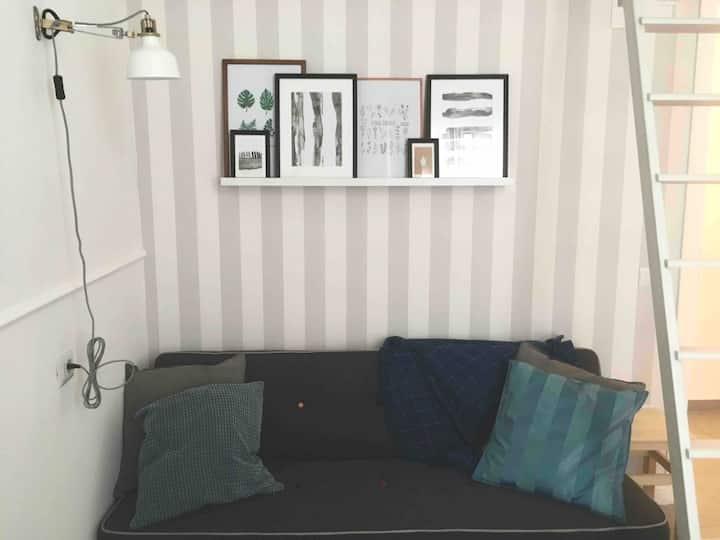 cozy studio in the city centre