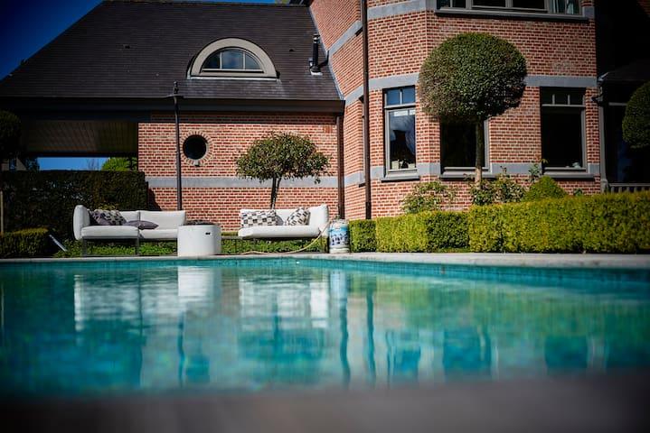 Villa Kakelbont (ville villekulla) - Wetteren - Bed & Breakfast