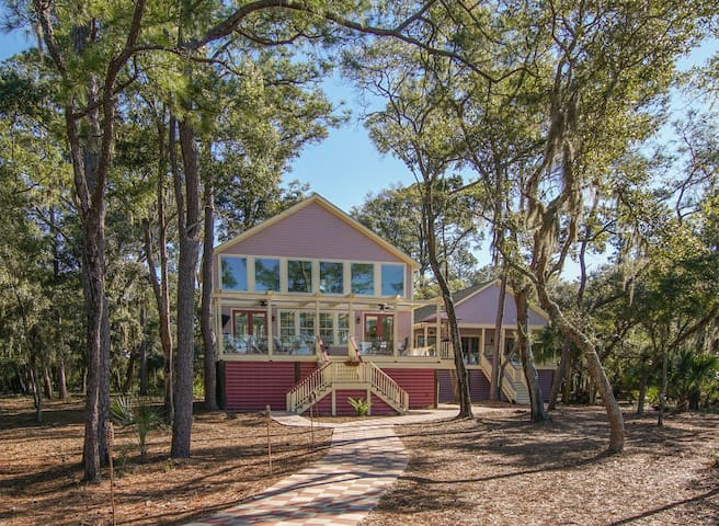 Private Island Cottage - Beaufort - Casa