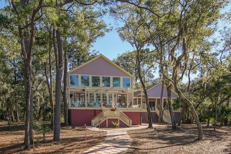 Private Island Cottage - Beaufort - Maison