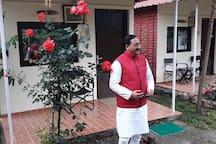 Ex CM Nishank pays a visit