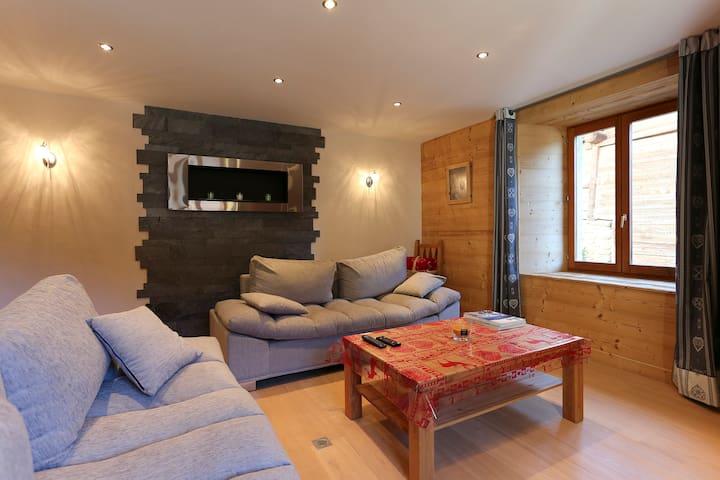 Spacieux appartement refait à neuf - Chamonix-Mont-Blanc - Apartemen