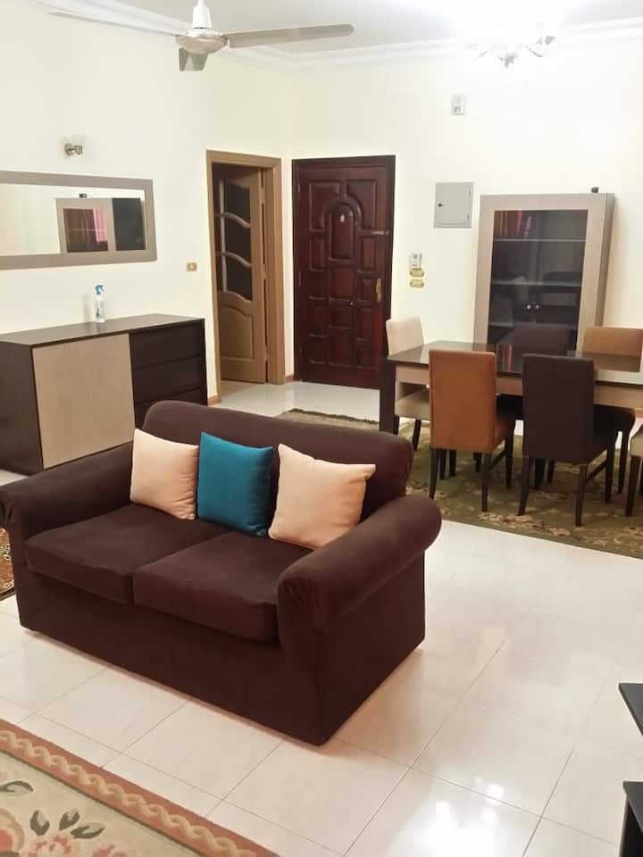 Furnished Apartment For RentinEl Maadi with size