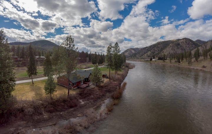 Cabin on the Clark Fork