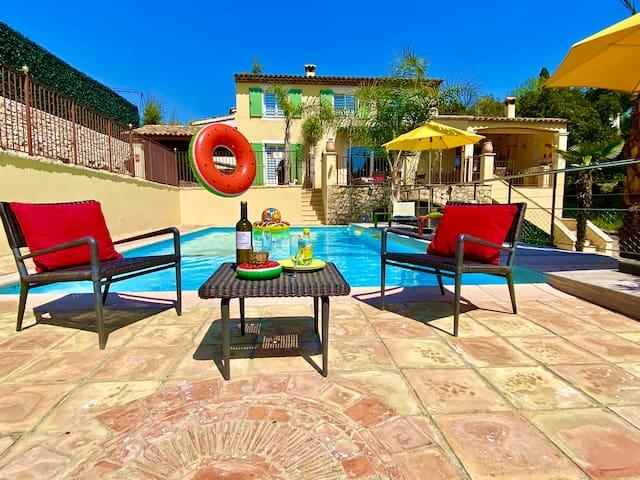 Villa Del sol - S. Pool Heated - Air Con Bedrooms