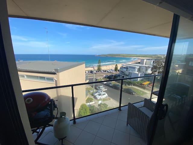 Ocean front apartment