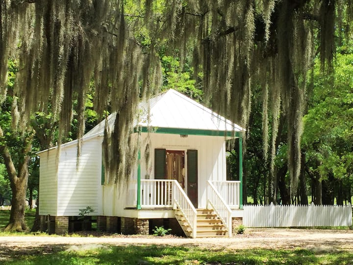 "The ""'Marguerite"" at Destrehan Plantation"